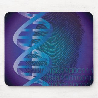 Impressão digital do ADN de CSI Mouse Pad