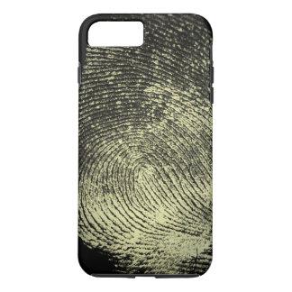 Impressão digital invertida do laço capa iPhone 7 plus