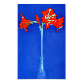 Impressão do Amaryllis de Mondrian Impressão De Foto