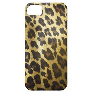 Impressão do animal de pele do leopardo capas para iPhone 5