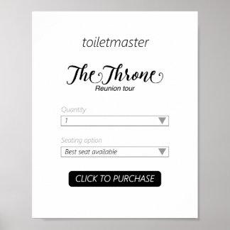 Impressão do banheiro de Toiletmaster