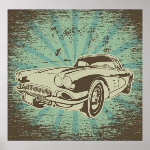 Impressão do carro do vovô