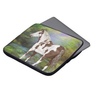 Impressão do cavalo da pintura de Tovero da azeda Capa Para Notebook