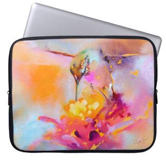 """""""Impressão do colibri de Quaff colorido"""" Capa De Notebook"""