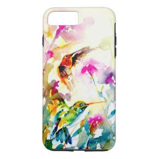 """""""Impressão do colibri do prado brilhante"""" Capa iPhone 7 Plus"""