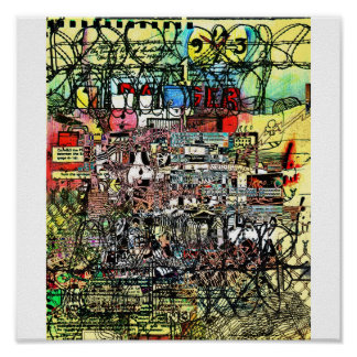 """""""Impressão do complexo industrial"""" Poster"""