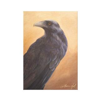 Impressão do corvo