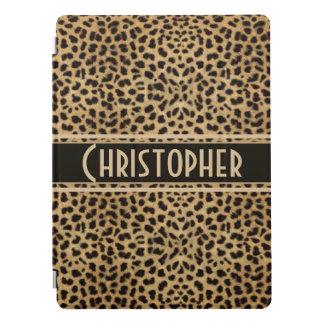 Impressão do design da pele do ponto do leopardo capa para iPad pro