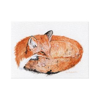 Impressão do Fox do sono