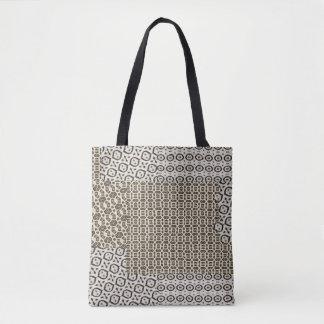 Impressão do leopardo bolsa tote