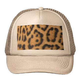 Impressão do leopardo boné