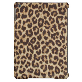 Impressão do leopardo capa para iPad air