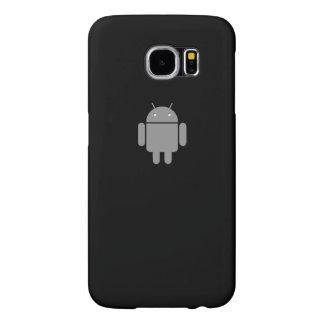 Impressão do logotipo do Android Capa Para Samsung Galaxy S6
