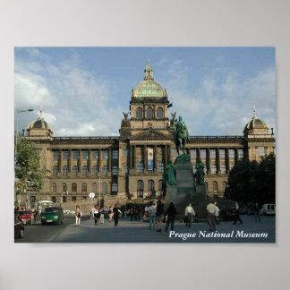 Impressão do Museu Nacional de Praga