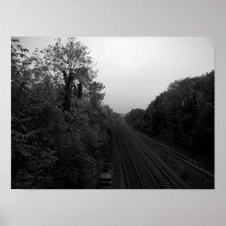 Impressão do poster de Trainline