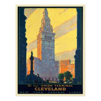 Impressão do poster do cartão para linhas centrais