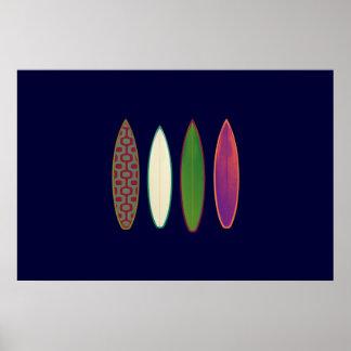 impressão do surf para paredes