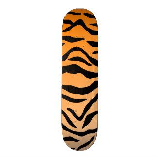 Impressão do tigre do falso shape de skate 20cm