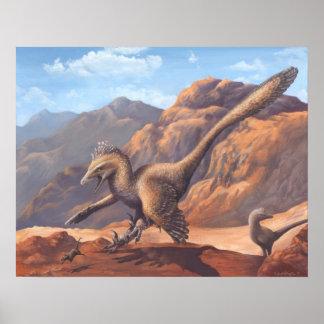 Impressão do Velociraptor