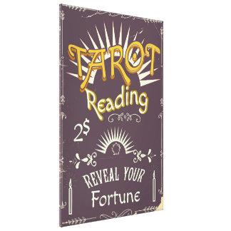 Impressão do vintage do leitor de Tarot