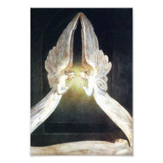 Impressão dos anjos de William Blake Impressão Fotográfica
