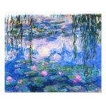 Impressão dos lírios de água de Monet Foto Artes