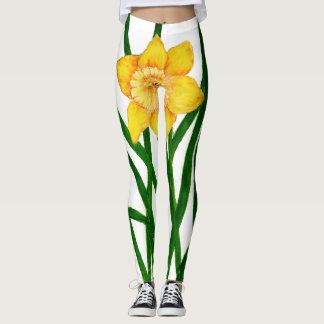 Impressão dos trabalhos de arte da pintura do leggings