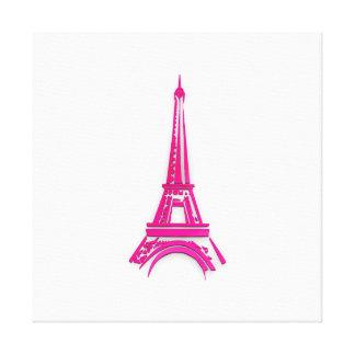 Impressão Em Canvas 3d torre Eiffel, clipart de France