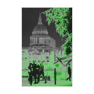 Impressão Em Canvas A catedral Londres de St Paul