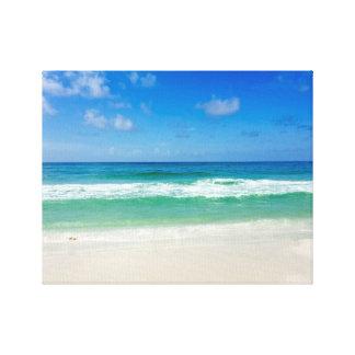 Impressão Em Canvas A fotografia da praia toma-me ao mar