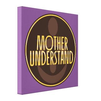 Impressão Em Canvas A mãe compreende