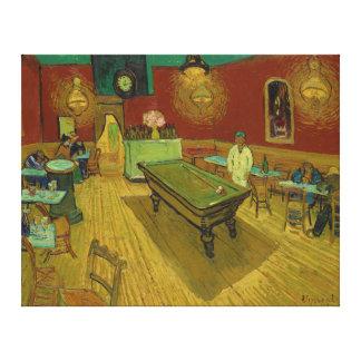Impressão Em Canvas A noite Café por Vincent van Gogh (1888)
