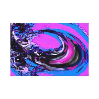 Impressão Em Canvas A onda