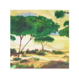 Impressão Em Canvas A planície