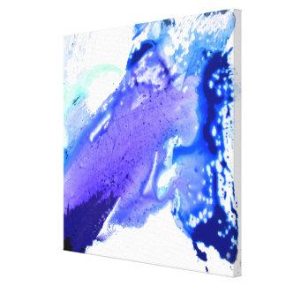 Impressão Em Canvas Aguarela abstrata