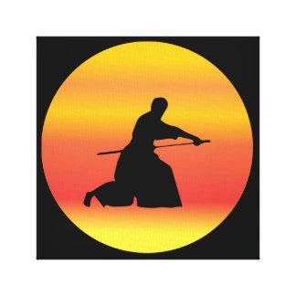 Impressão Em Canvas aikido