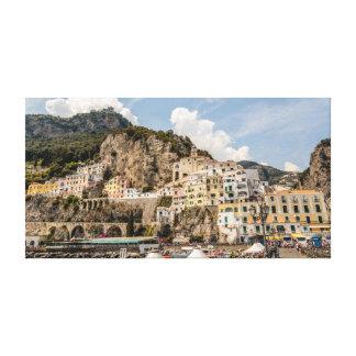 Impressão Em Canvas Amalfi do beira-rio
