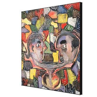 Impressão Em Canvas Amantes pelo rafi talby