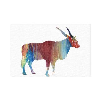 Impressão Em Canvas Antílope de Eland