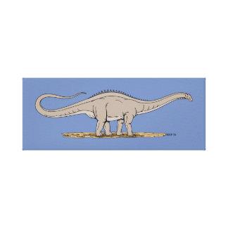 Impressão Em Canvas Apatosaurus