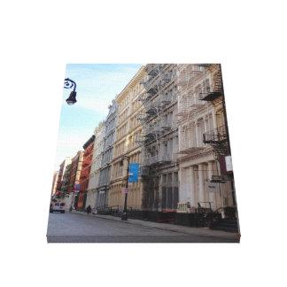 Impressão Em Canvas Arquitetura New York do ferro fundido de SoHo da