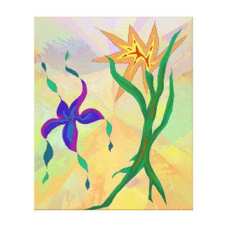 Impressão Em Canvas Arte abstracta do POSTO AVANÇADO