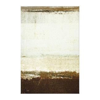 """Impressão Em Canvas Arte abstracta neutra """"Discoid"""""""