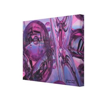 Impressão Em Canvas Arte abstrata de aproximação da parede do