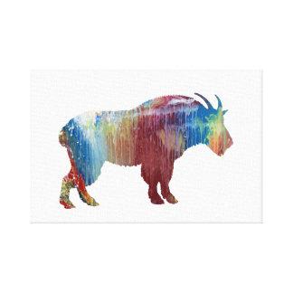 Impressão Em Canvas Arte da cabra