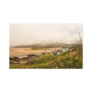 """Impressão Em Canvas """"Arte da parede da costa irlandesa"""""""