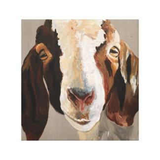 Impressão Em Canvas Arte da parede da pintura da cabra da mostra da