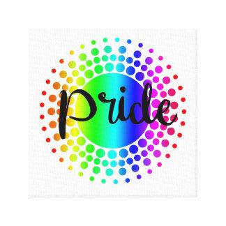 Impressão Em Canvas Arte da parede do arco-íris do orgulho gay