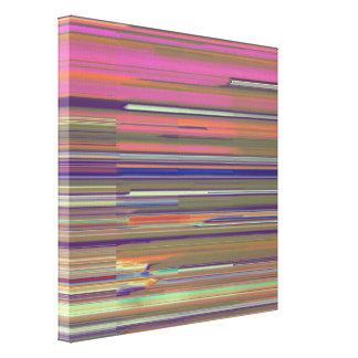 Impressão Em Canvas Arte do pulso aleatório da cor