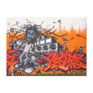 Impressão Em Canvas Arte dos grafites